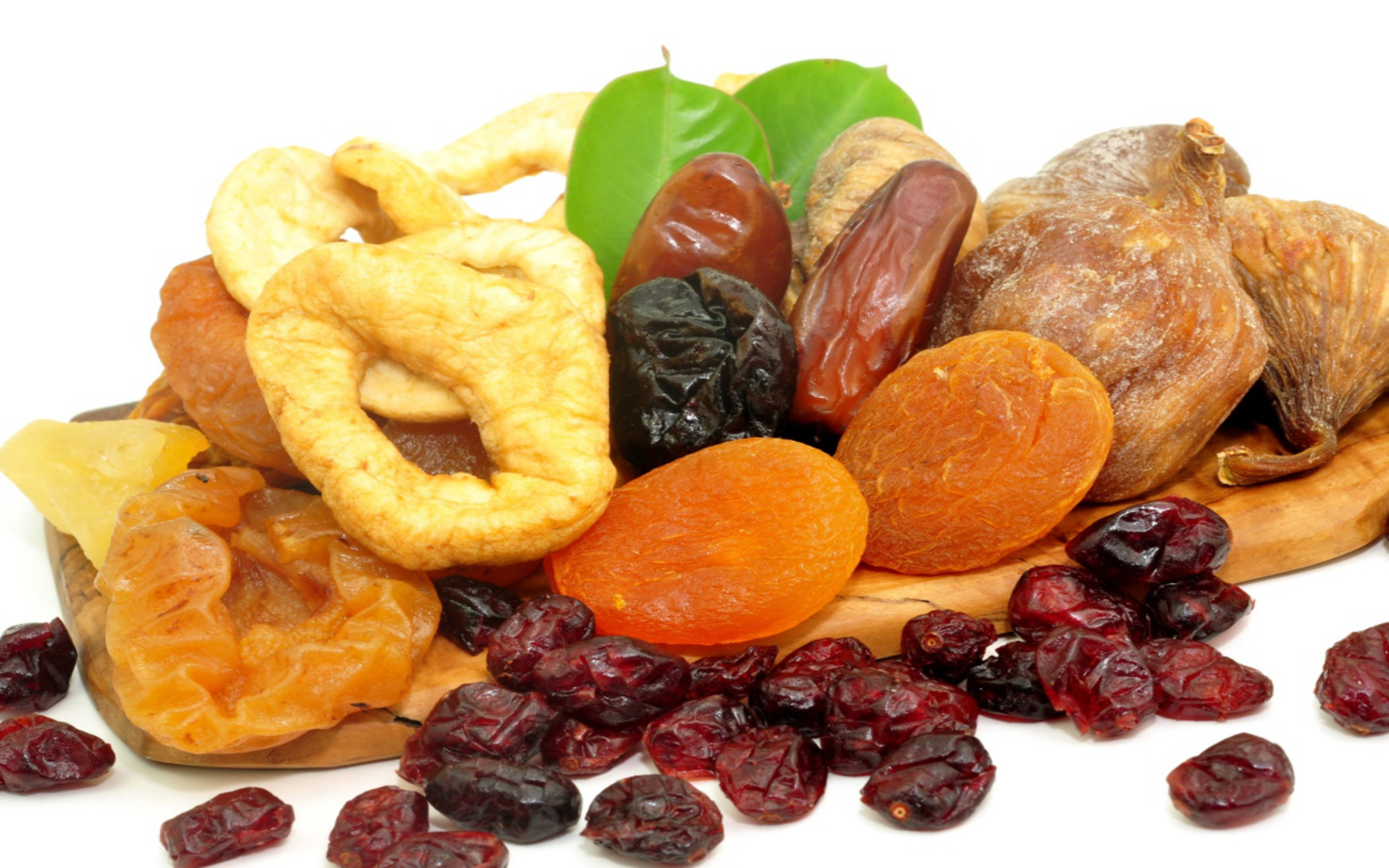 A dried fruit